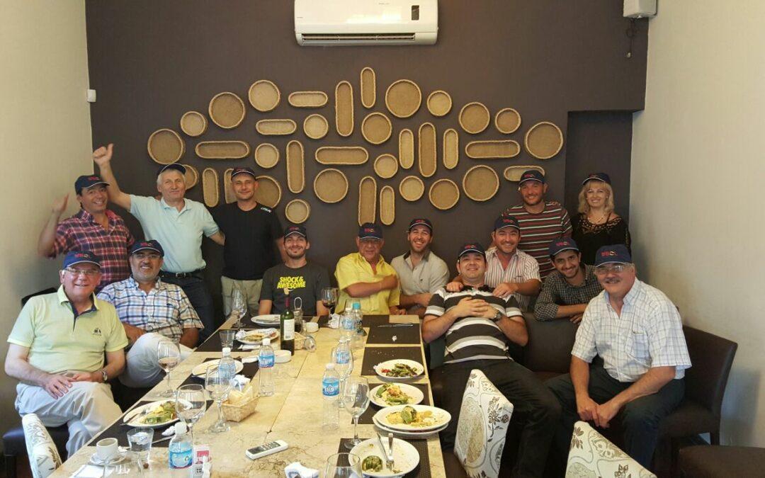 Reunión comercial en Mendoza