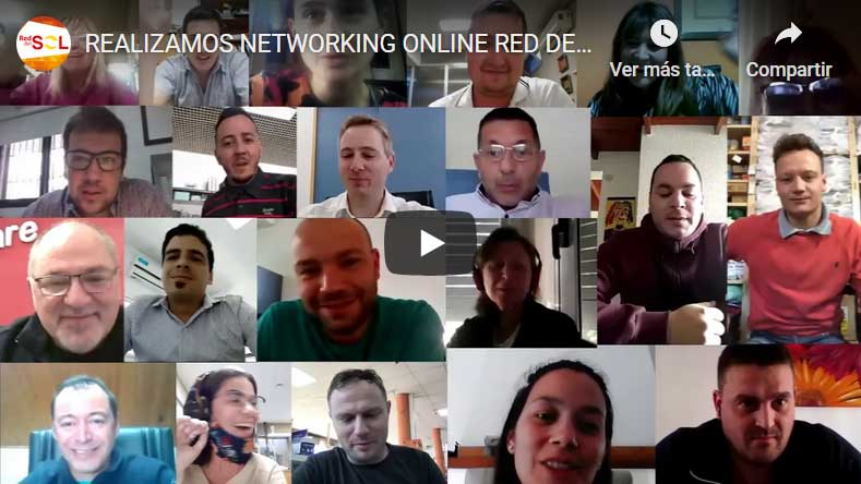 REALIZAMOS NETWORKING ONLINE RED DEL SOL 2020